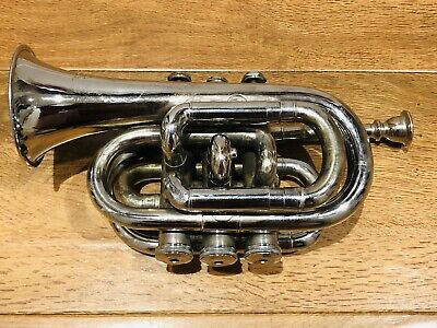 Pocket Trumpet  -  Boosey Bessons & Co. London. Overhauled-good condition