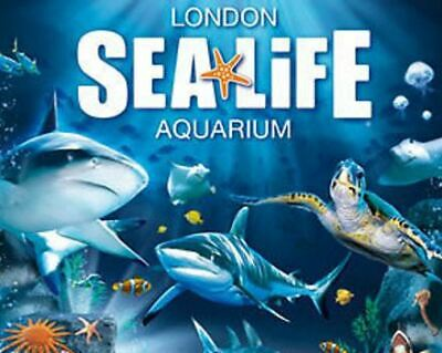 2 Adult & 3 Children MADAME TUSSAUD'S & SEALIFE LONDON AQUARIUM  * FAMILY TICKET
