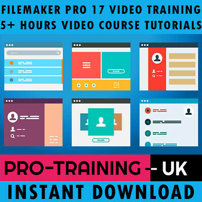 FileMaker Pro 17 Video Training Tutorial Pro Course 5+ Hours - Instant Download