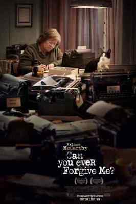 CAN YOU EVER FORGIVE ME (2018) D/S Orig Movie Poster 2-Sided 27x40 McCarthy NEW