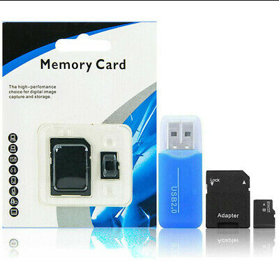 1TB Micro SD Card with Adapter (Class 10 Speed) Memory Storage Store Data File