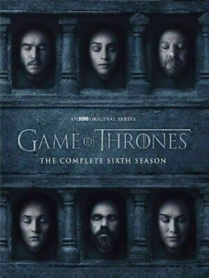 Game of Thrones Season 6 The Complete 6th season (DVD) New, Free Shipping