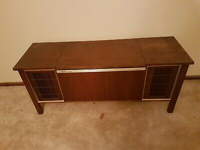 Mid Century Radiogram and Record player