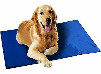 Extra Large XL Cooling Mat Cold Gel Pad Keep Dogs Cat Pets Cool Bed Mats 44X28