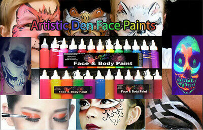 Airbrush Face Paint 60ml Face Paint Airbrushing Ink Airbrushing Face Paint