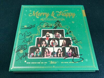 TWICE ALL MEMBER Signed PROMO ALBUM KPOP