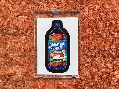wacky packages hawaiian pants proof card Topps vault  1/1