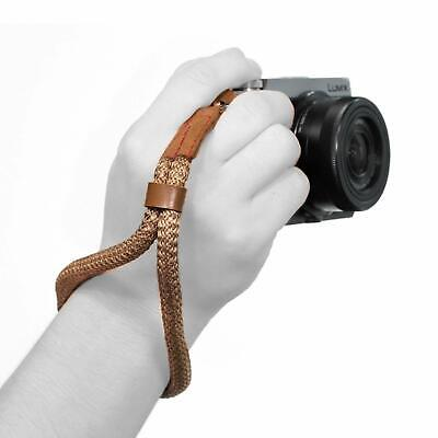 MegaGear Cotton Camera Hand Wrist Strap - Comfort Padding, Security for All