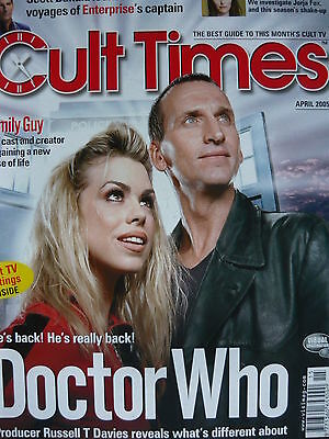 Cult Times Magazine Issue 115 April 2005 - Doctor Who