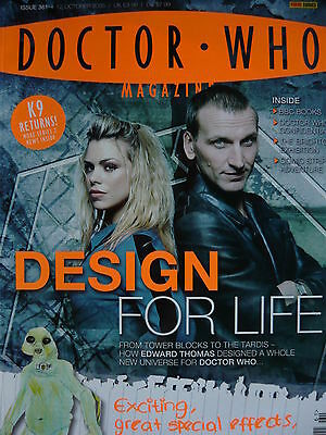 Doctor Who Magazine Oct 2005 Issue 361