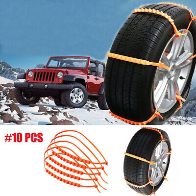 Car Accessories Wheel Antiskid Chain Thickened Beef Tendon Tyre  Ice snow