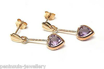 9ct Gold /& Clear CZ Heart Clip on Charm Love Hearts 375 Charms Valentines