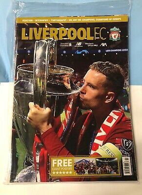 LIVERPOOL FC MAGAZINE July 2019, LFC official Mag