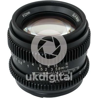 SLR Magic CINE 50mm F1.1 II Lens for Sony E / FE