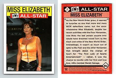 Miss Elizabeth #7 WWE Heritage 2016 Topps NWO ALL-Star Trading Card