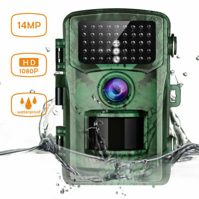 TOGUARD Trail Camera 14MP 1080P Wildlife Hunting Game Security Cam Night Vision