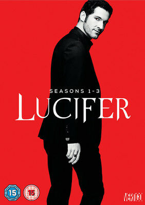 Lucifer: Seasons 1-3 DVD (2018) Tom Ellis cert 15 11 discs ***NEW*** Great Value
