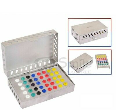 Dental Surgical Instruments Empty Sterilization Box for Surgical Implant Tools