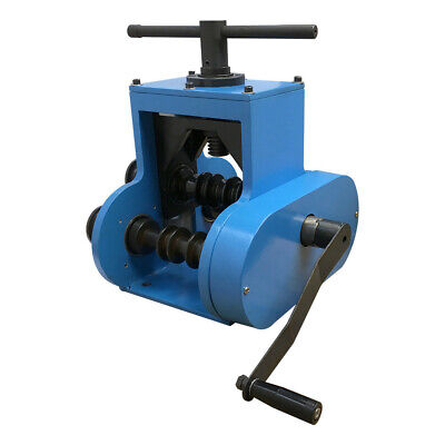 Pipe Tube Roll Bender Manual Operating Flat Square Round Tube