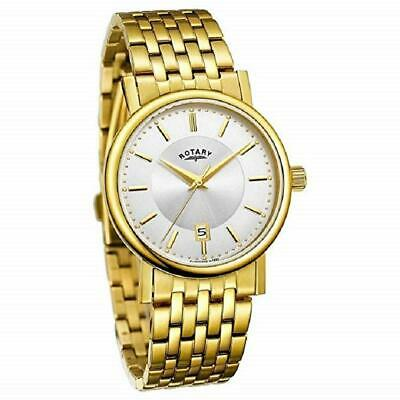 Rotary Engineered Gold Plated Mens Watch GB03635/03