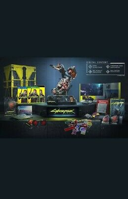 Cyberpunk 2077 Collector's Edition Ps4. Preventa confirmada.