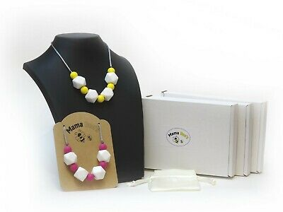 Silicone Nursing/Teething/Sensory/Necklace Bright Summer Collection