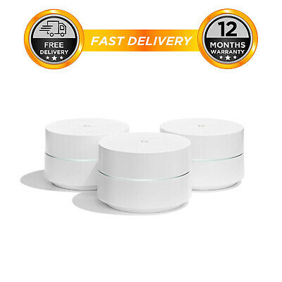 Google Wifi System (3-Pack) Router replacement for whole home coverage