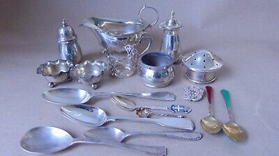 Job Lot Sterling Silver For Re-Sell, Use, Spare Or Repair