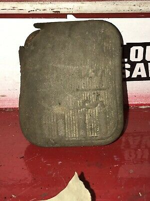 Antique Motorcycle Indian Harley Davidson Brake Clutch Rubber Bolt On Pedal Pad