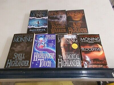 KAREN MARIE MONING Lot 7 HIGHLANDER Mist Tame Touch Kiss Dark