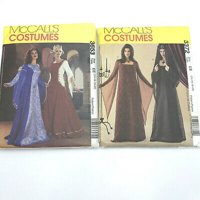 MCCALLS COSTUME SEWING Pattern 8826 Girls Size 7 8 Medieval