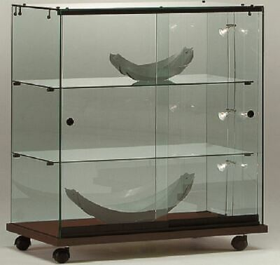 ALL GLASS RETAIL SHOP COUNTER JEWELLERY GLASS DISPLAY SHOWCASES. CABINET 80w cm