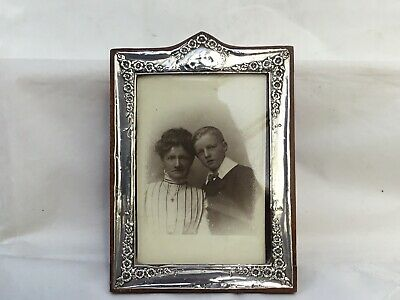 Antique Silver Photograph Frame, Chester 1916