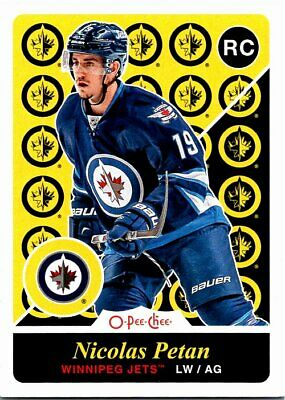 2015-16 O-Pee-Chee Update Retro Hockey Card #U29 Nicolas Petan Jets