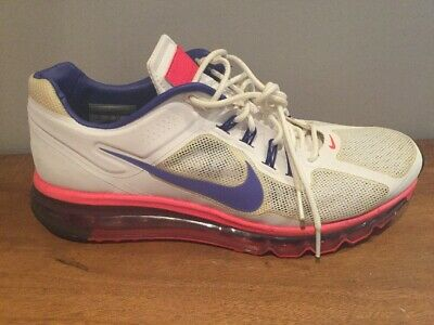 80549473b7 Nike Air Max 2013+ Ext Laser White Lavender Infrared 554967-330 Sz 10