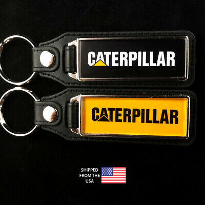 Caterpillar CAT Tractor Key Fobs Key Ring Keychain (2-Pack)