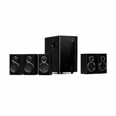 Home Theater Sistema 5.1 Cinema Sound Surround System 200W Bluetooth USB SD Subw