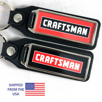 Craftsman Lawn Mower Tractor Key Fobs Key Ring Keychain (2-Pack)