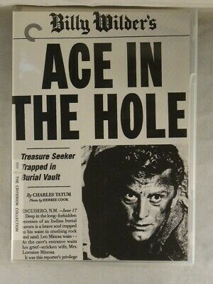 Ace in the Hole (DVD, 2007) Criterion Collection, Billy Wilder Classic Film Noir