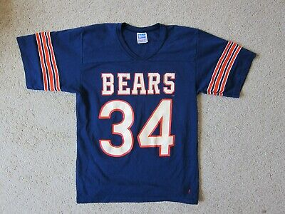 4b7c6124059 Vintage NFL Football Jersey Chicago Bears Walter Payton 34 Rawlings - Small