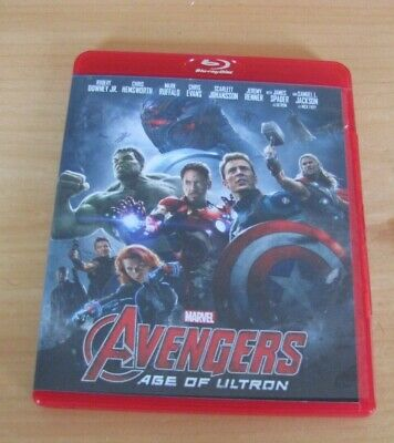 Avengers: Age of Ultron (Blu-ray Disc, 2015)