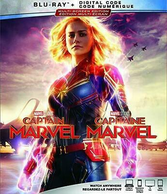 NEW - Captain Marvel (Blu-ray + Digital) with Slipcover  Phase Three