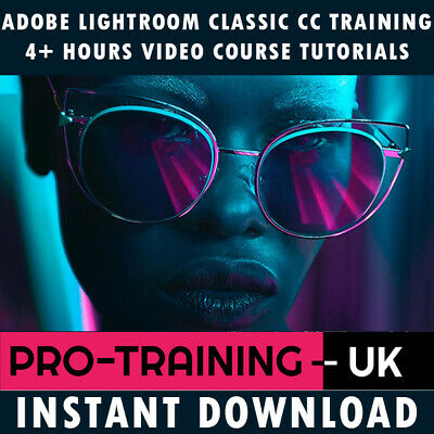 Adobe Photoshop Lightroom Classic CC Pro Video Training - Instant Download