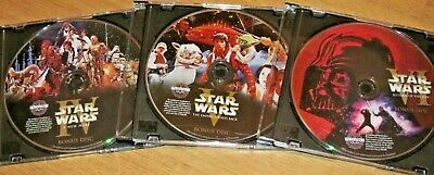 Star Wars Original Theatrical Versions 4 5 6 Despecialized 4 Dvd Han Shoots 1St