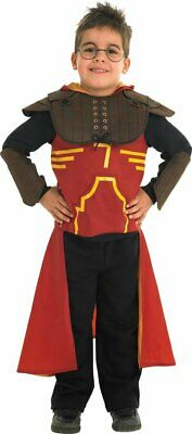 RUBIE'S HARRY POTTER DELUXE QUIDDITCH COSTUME BAMBINI LARGE 128 CENTIMETRI (b7l)