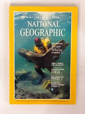 National Geographic - July 1985 - Vol. 168, No. 1