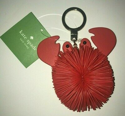 KATE SPADE New York CRAB POUF KEYCHAIN Key Fob NWT ($88)