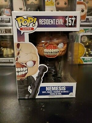Funko Pop! Games Resident Evil Nemesis #157 Vinyl Figure WITH PROTECTOR!