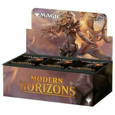 MTG Magic Modern Horizons Booster Box Factory Sealed - ENGLISH FREE SHIP