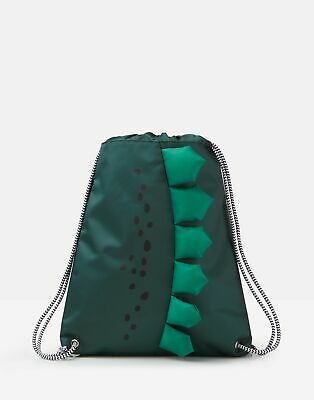 Joules Boys Play Drawstring Bag in PARSLEY in One Size